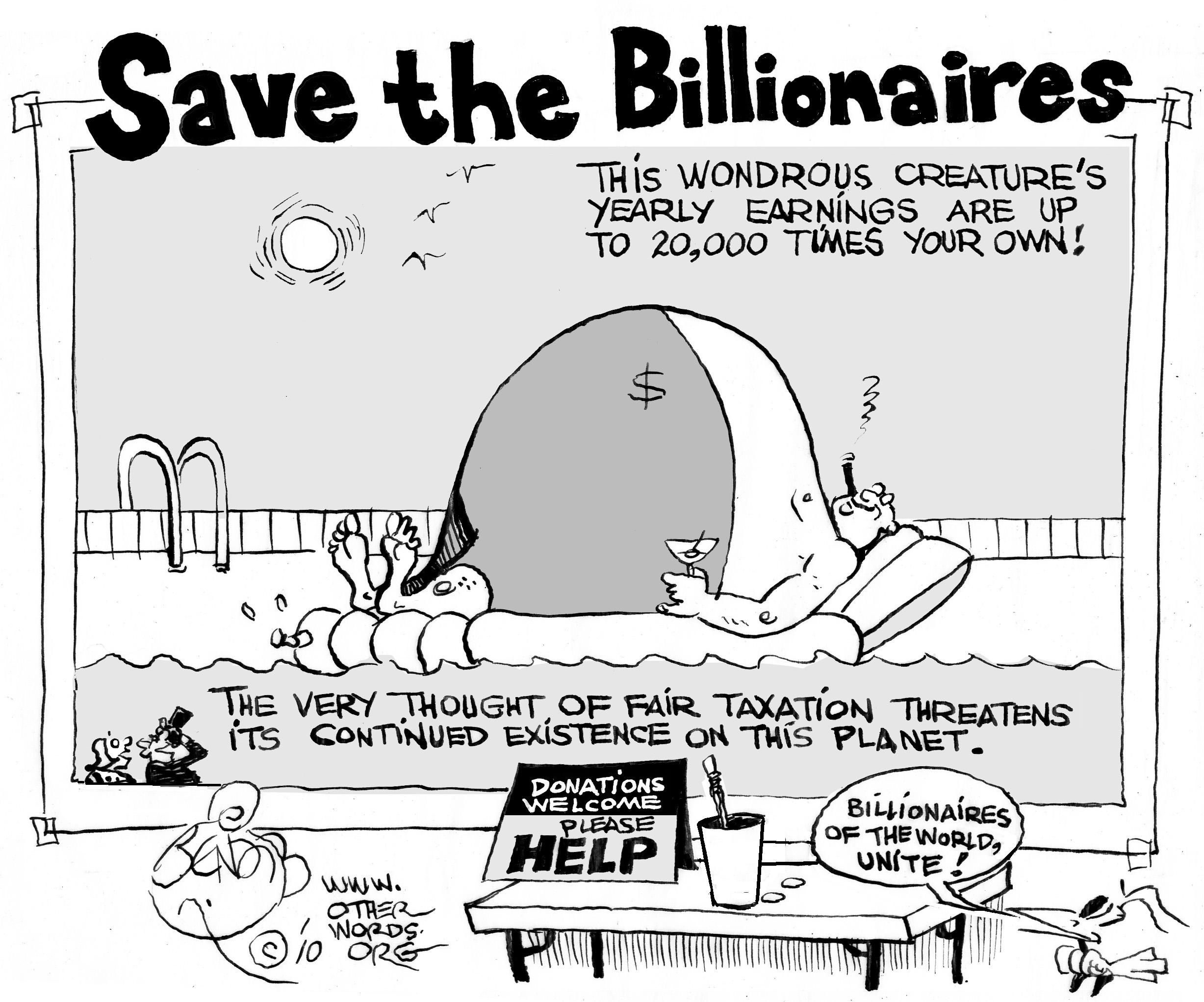 Save the Billionaires' Tax Loophole