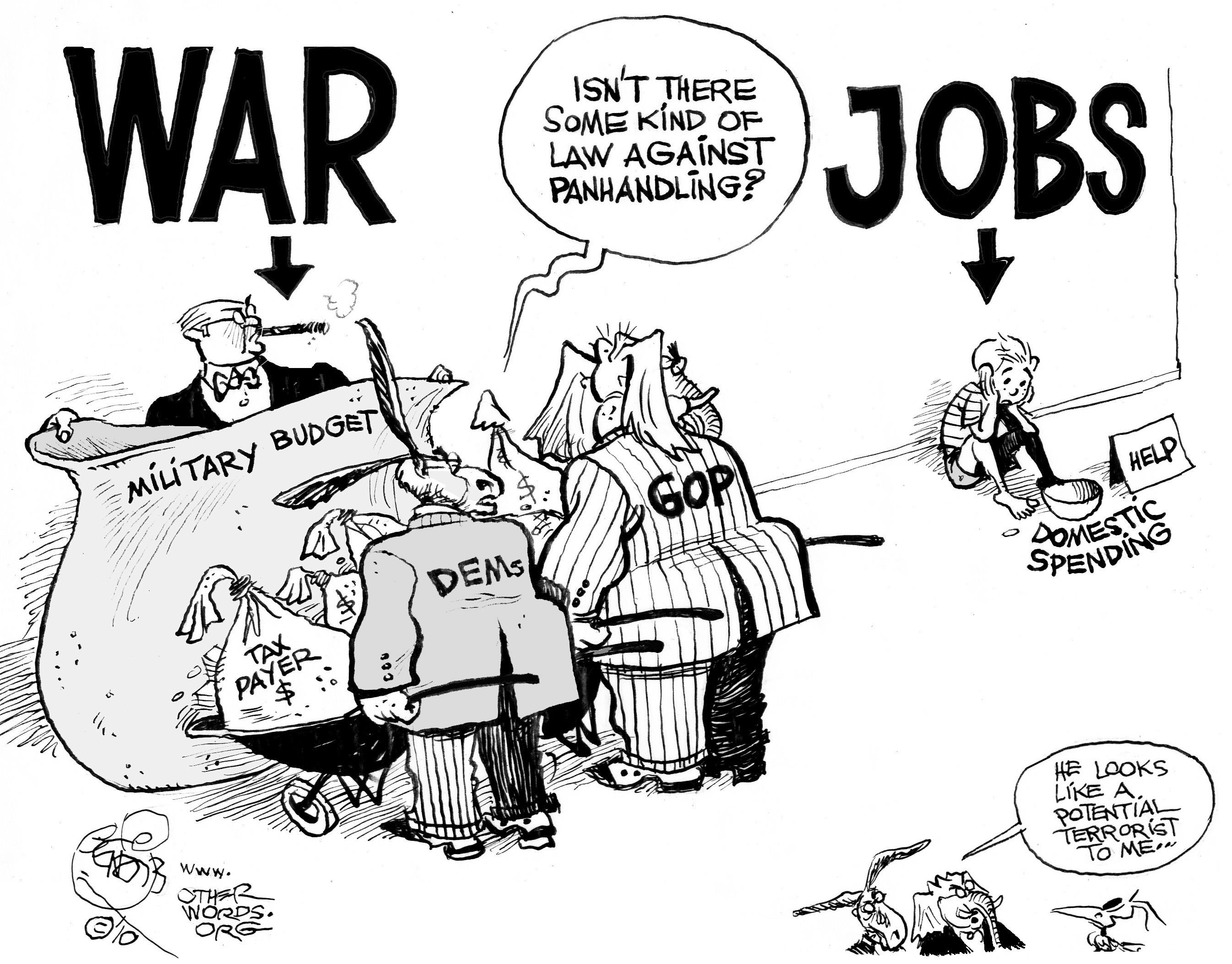 Jobs vs. War
