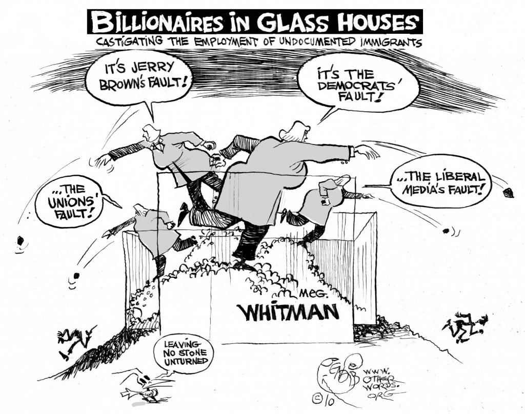 Whitman's House cartoon