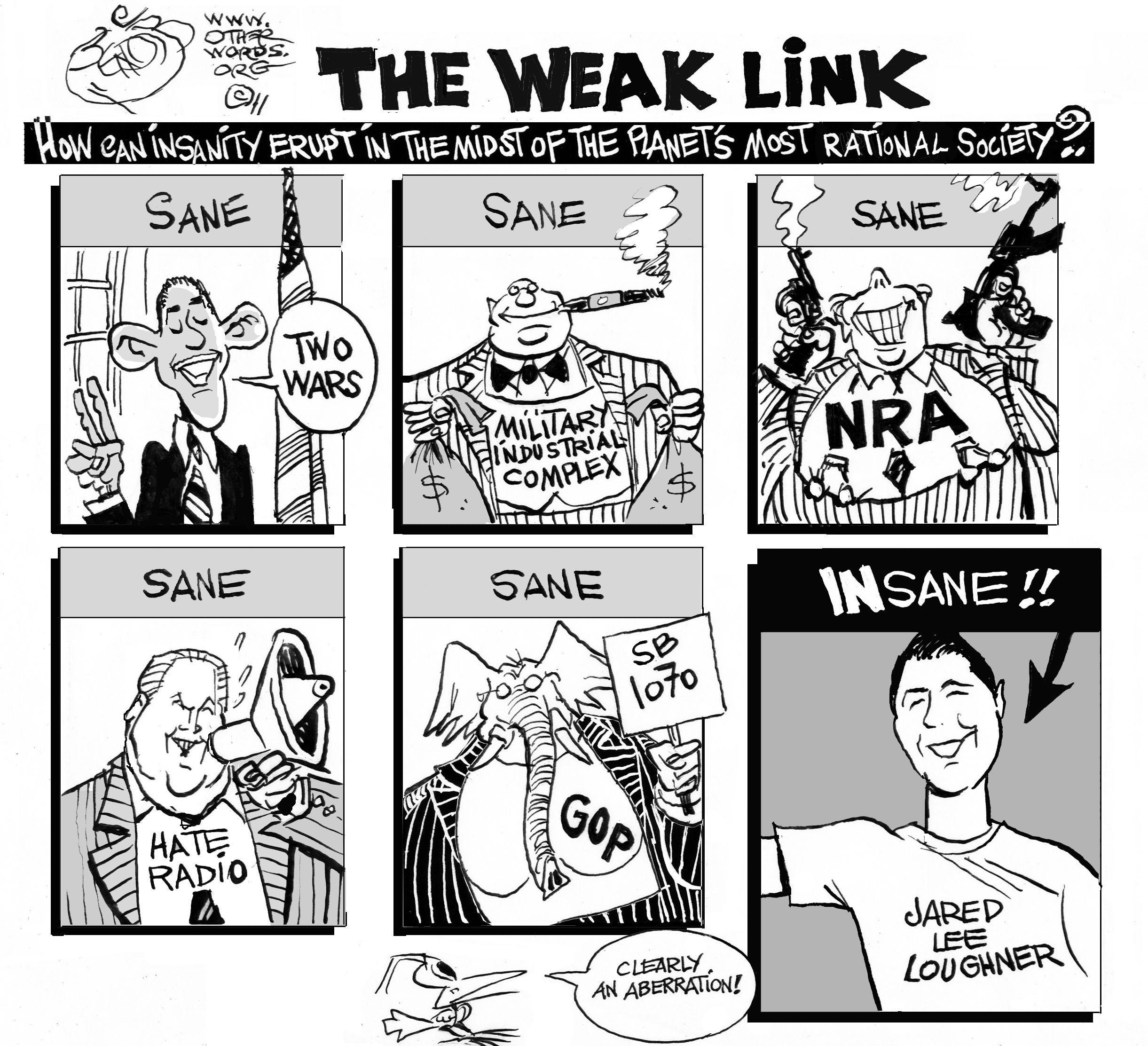The Right to Bear Arms, Even if You're Nuts