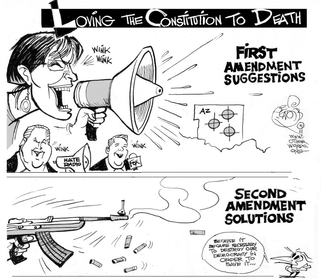 Second Amendment Solutions cartoon