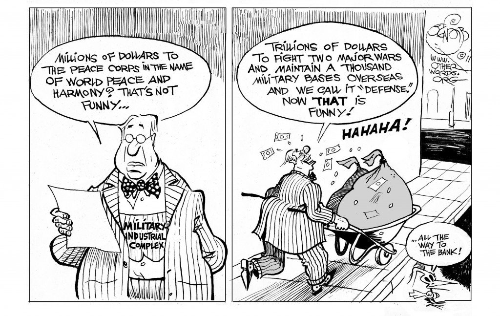 Military Industrial Humor cartoon