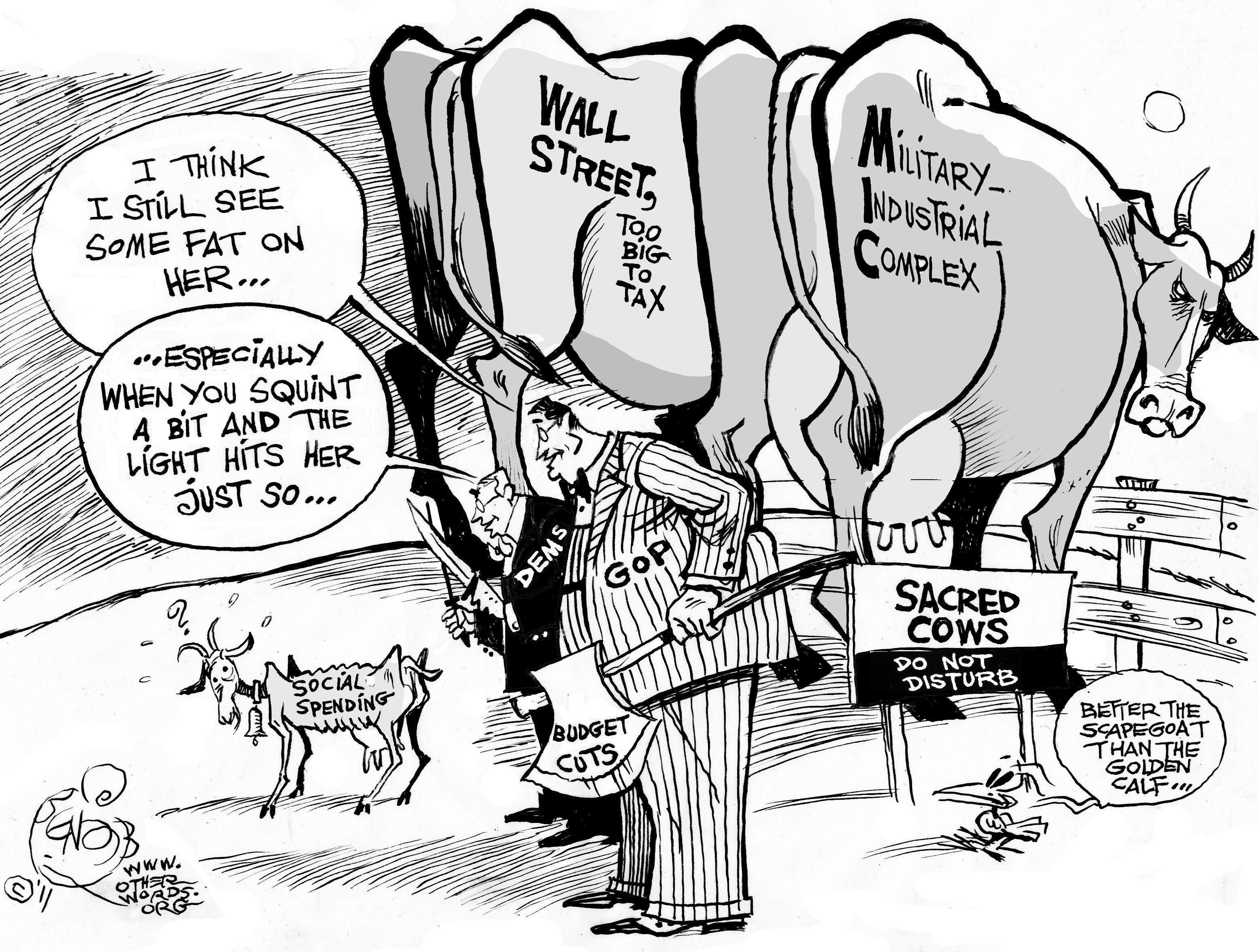 Scapegoating Social Spending