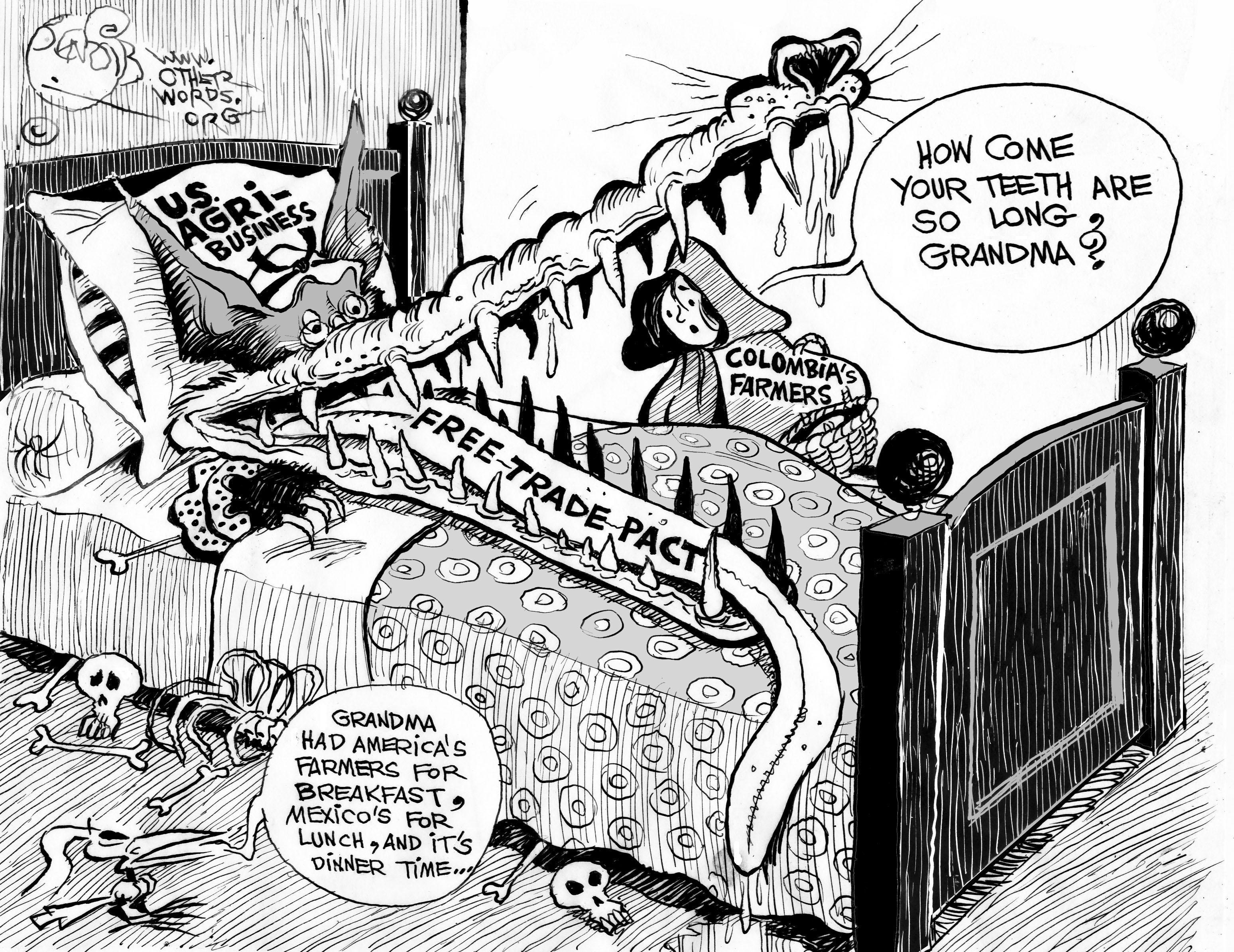 Big Bad Free Trade Accord