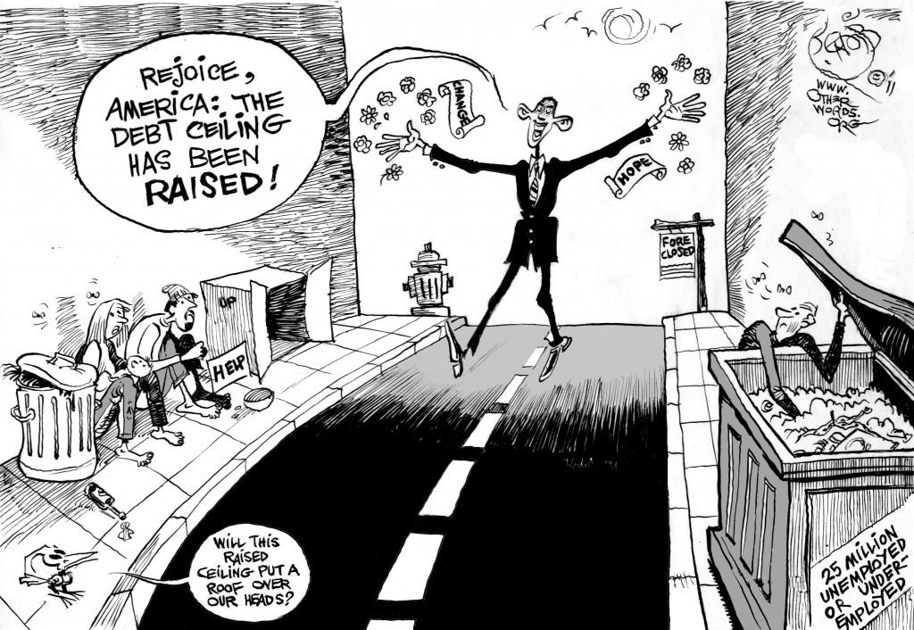 Raised Ceiling cartoon