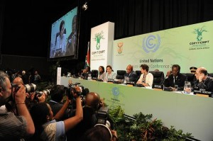 Delegates at COP17 have presented different visions of how the Global Climate Change fund will work. Photo by UNClimateChange.