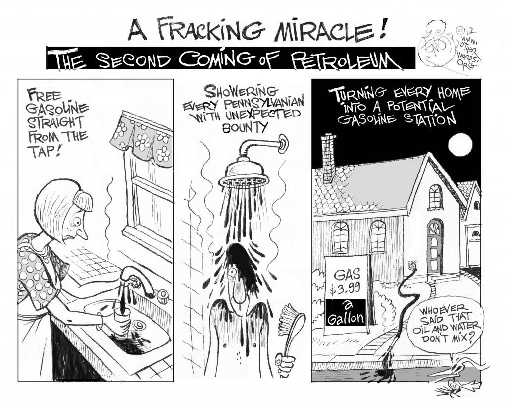 A Fracking Miracle cartoon