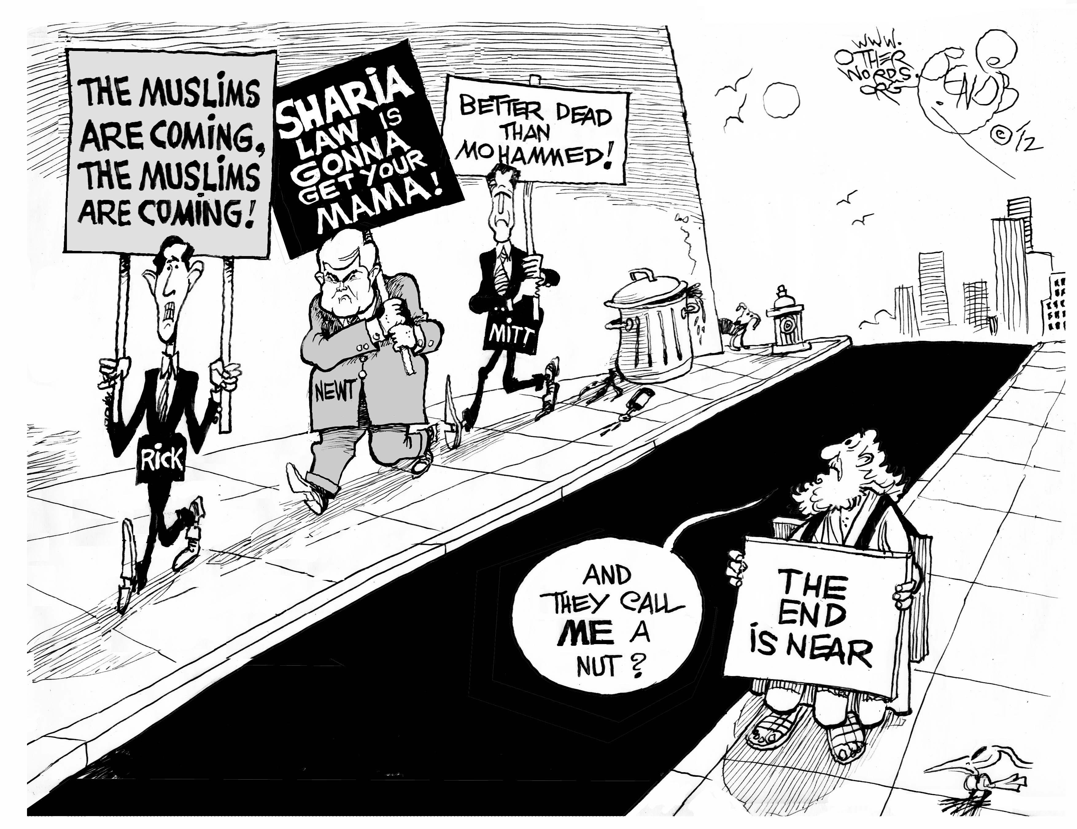 Running Against Islam