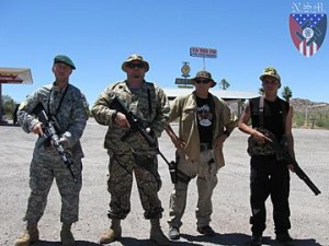 Members of the far-right National Socialist Movement in Arizona (splcenter.org).