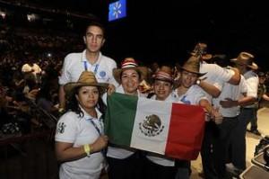Walmart associates at a shareholders concert in Mexico (Walmart / Flickr)