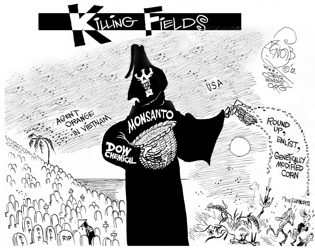 Killing Fields cartoon
