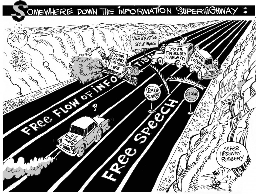 Super Highway Robbery cartoon