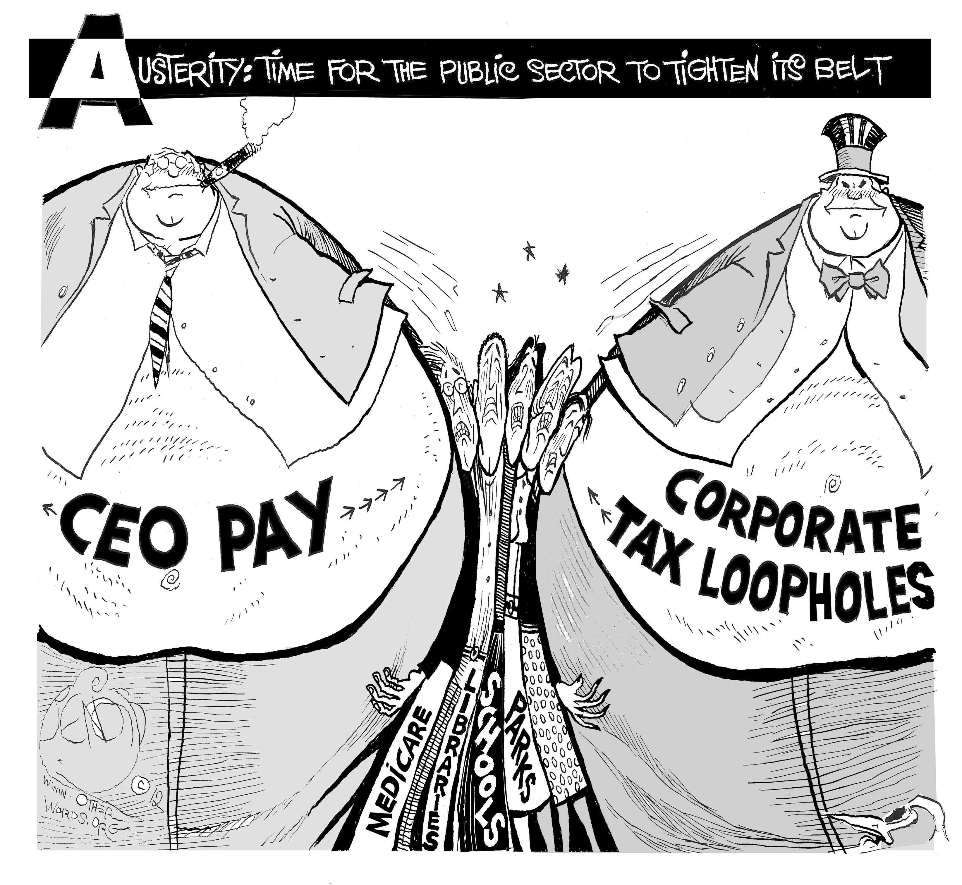We're All Subsidizing Free Lunches for America's CEOs
