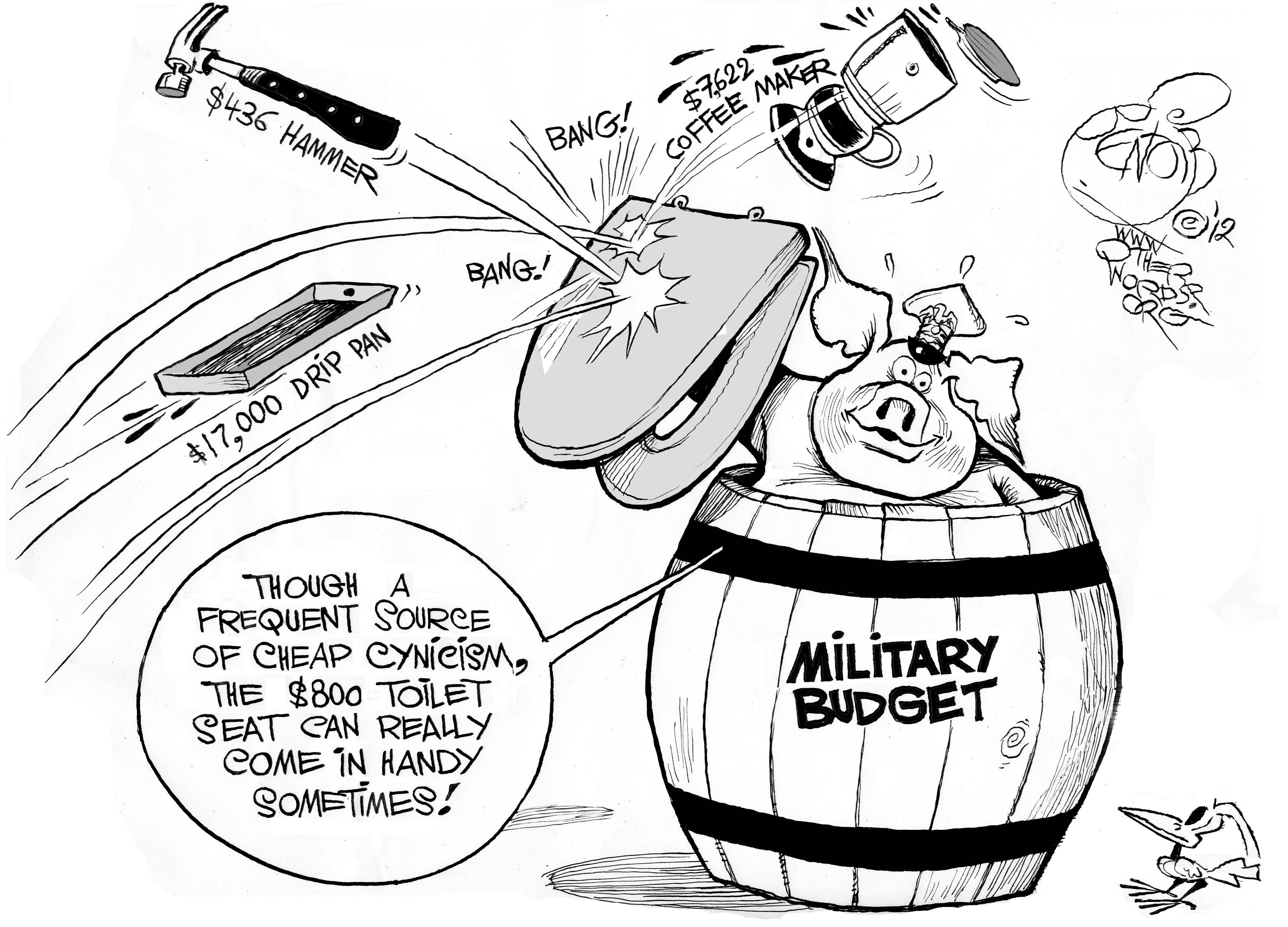 A Glimmer of Military Budget Sanity