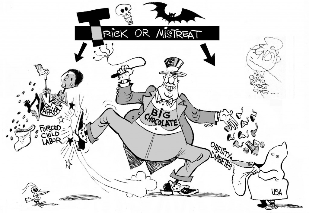Trick or Mistreat cartoon