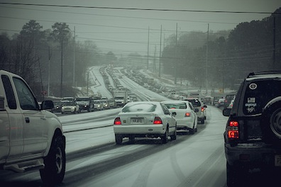 The Cold Truth Atlanta's Epic Traffic Jam Exposed