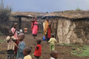 Family in Kenya