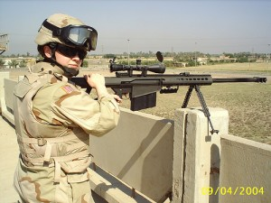 U.S. Soldier in Iraq