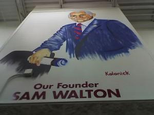 Wal-Mart founder Sam Walton
