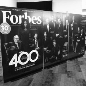 Forbes 400 blowup photo