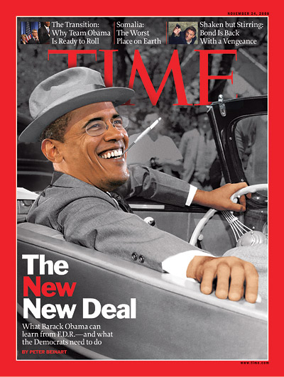 Obama Tips His Hat to FDR