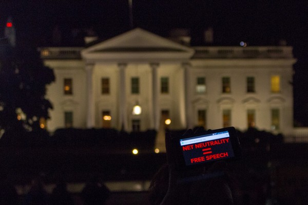 Net Neutrality Protest at the White House