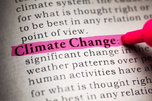 Highlighting Climate Change definition