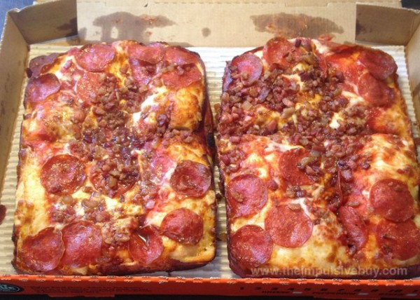 Little Ceasars Bacon Wrapped Pizza