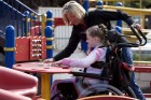 Social Worker with Disabled Child
