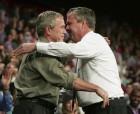 Bush Brothers Hugging