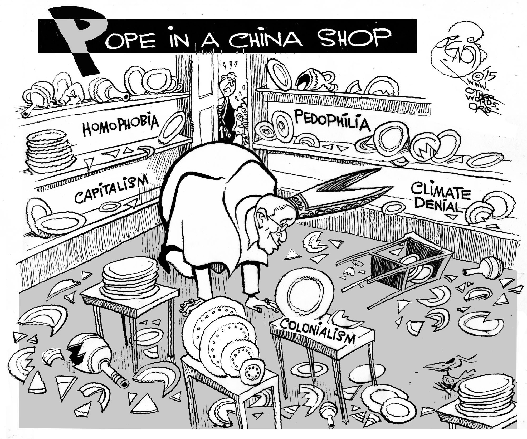 Pope in a China Shop
