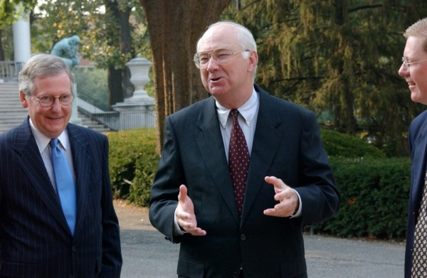 Phil Gramm and Mitch McConnell