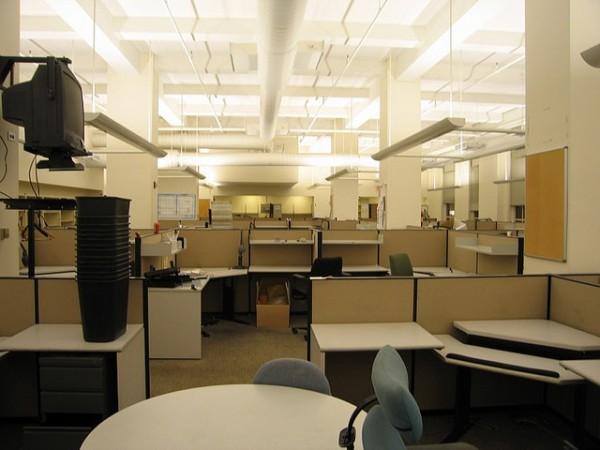 Empty Newsroom