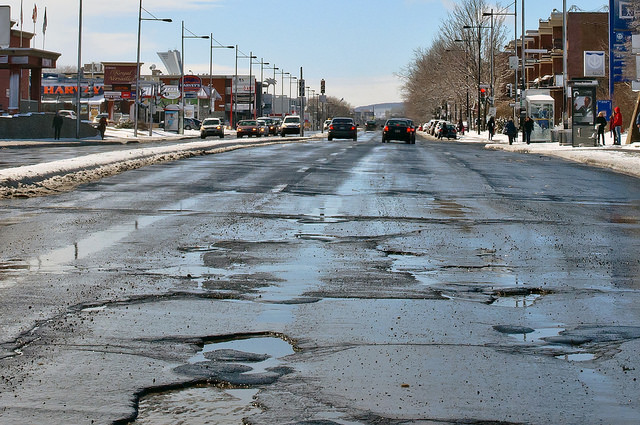Don't Pave Our Potholes with Corporate Tax Cuts