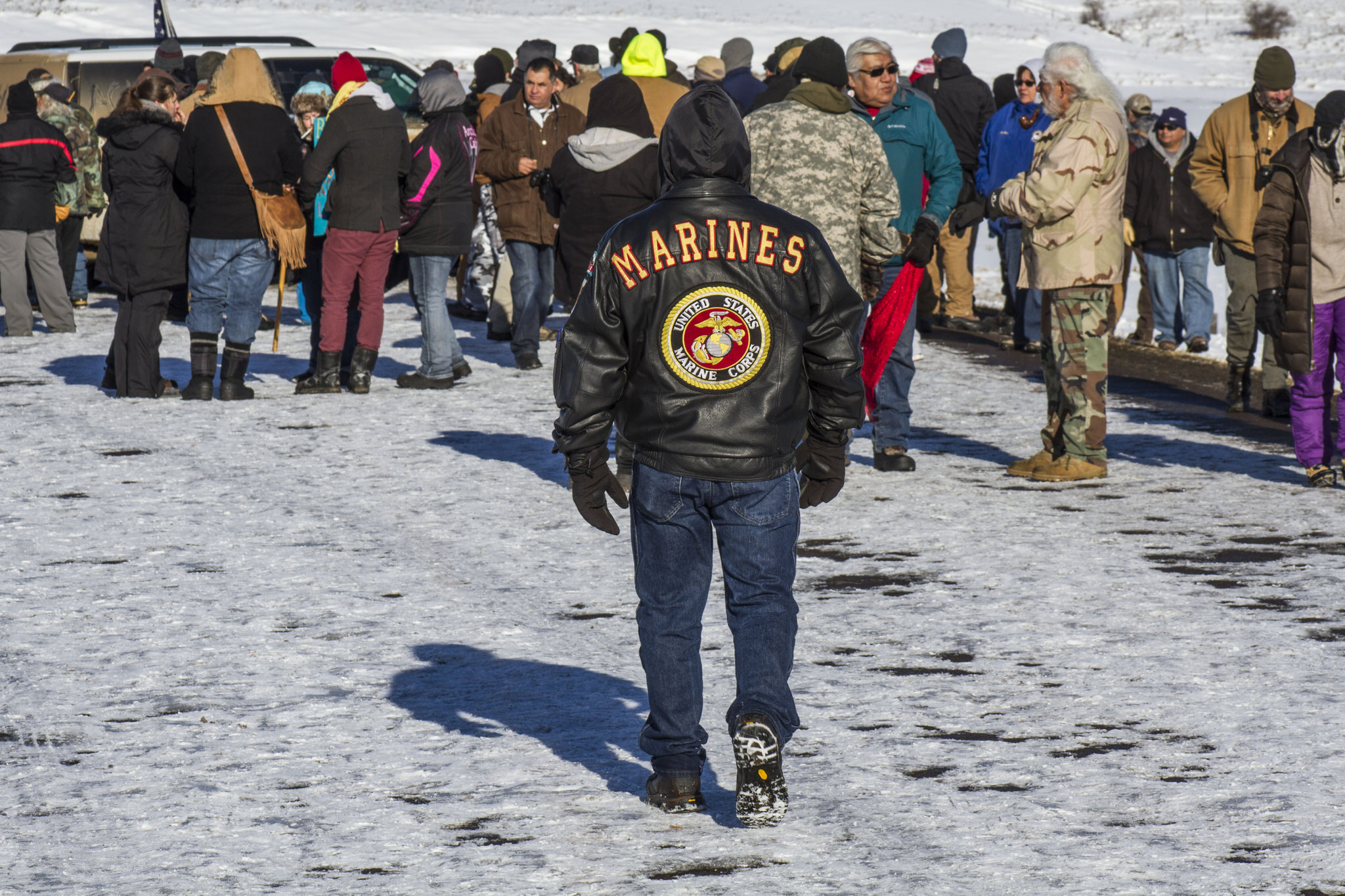 Why I Answered the Call for Veterans to Go to Standing Rock