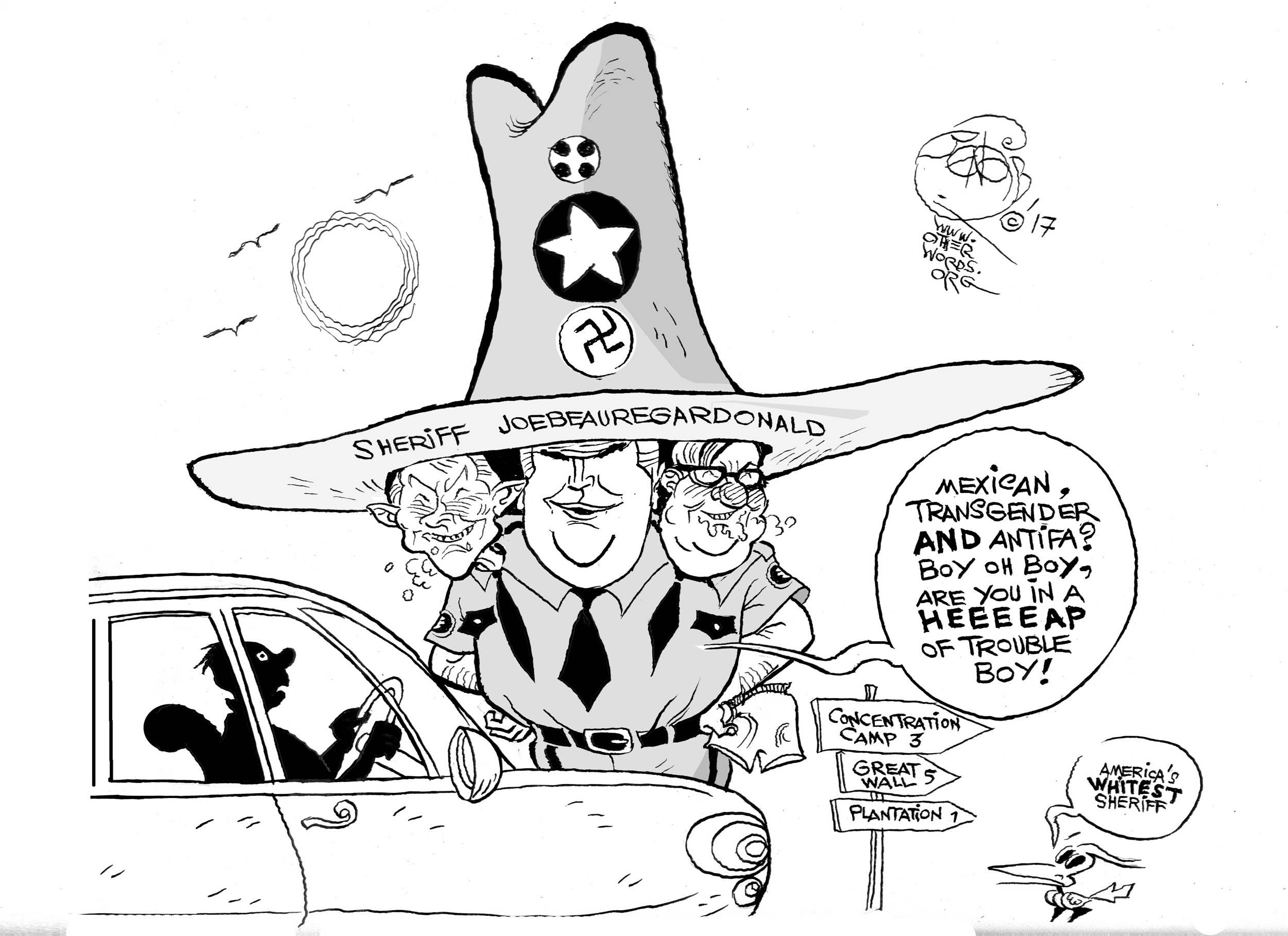 America's Whitest Sheriff