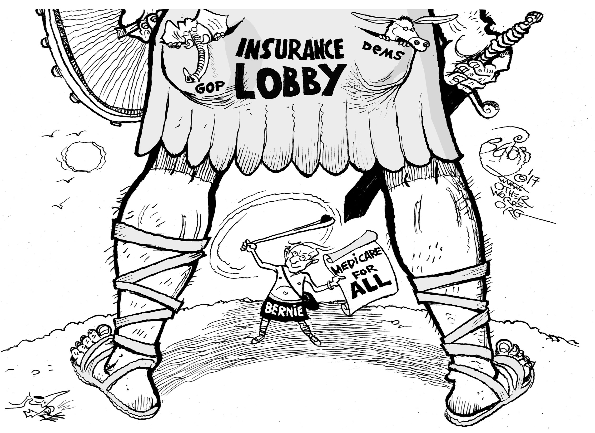 Bernie and Goliath
