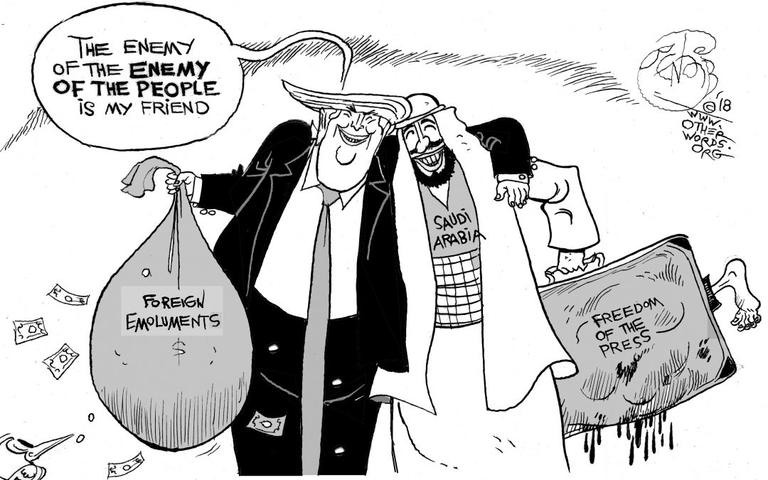 A Devil's Deal With Saudi Arabia