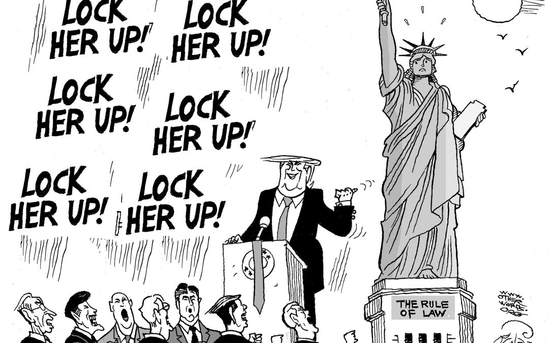 Lock Her Up!