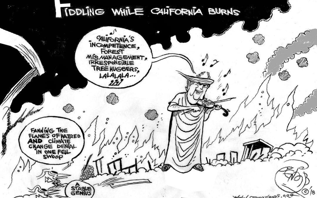 Fiddling While California Burns