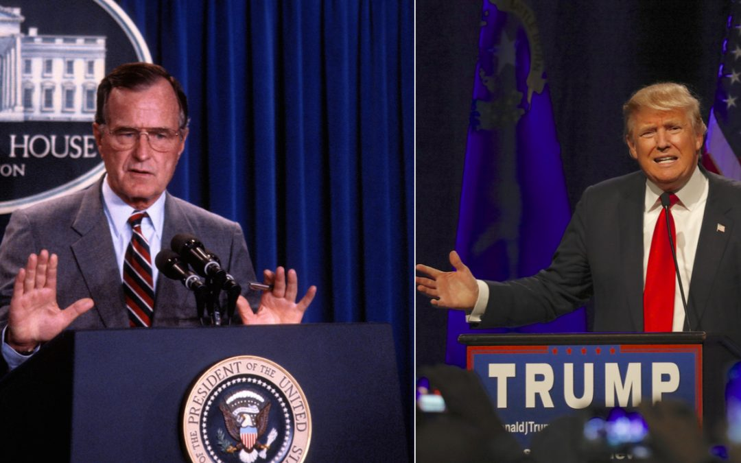 Is Bush's Legacy So Different From Trump's?