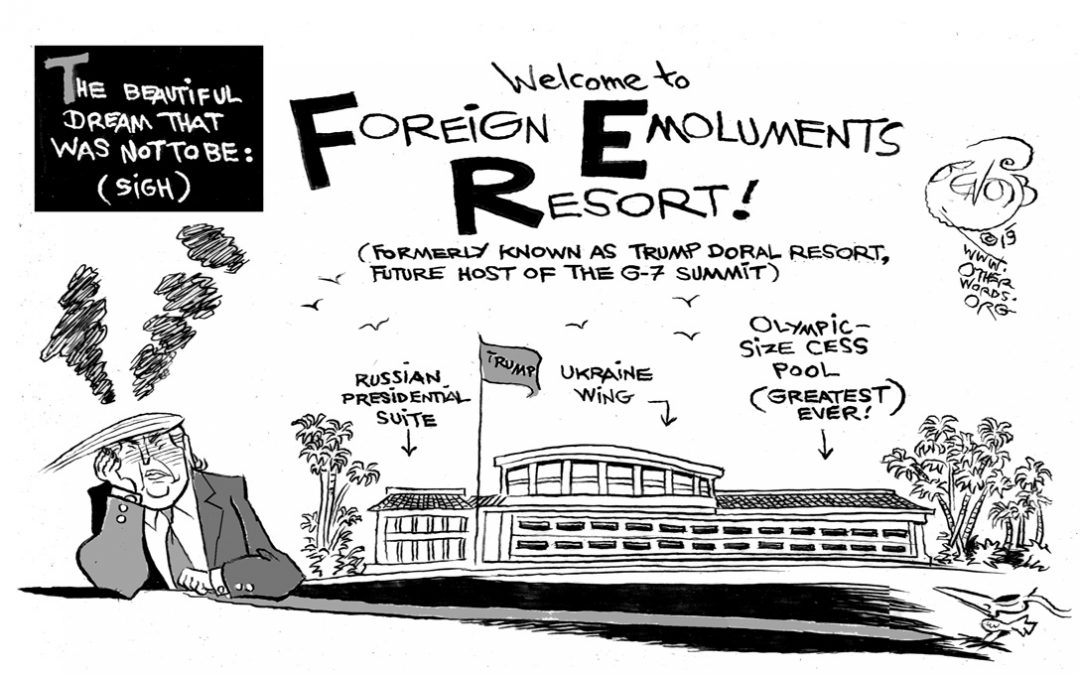 The Foreign Emoluments Resort
