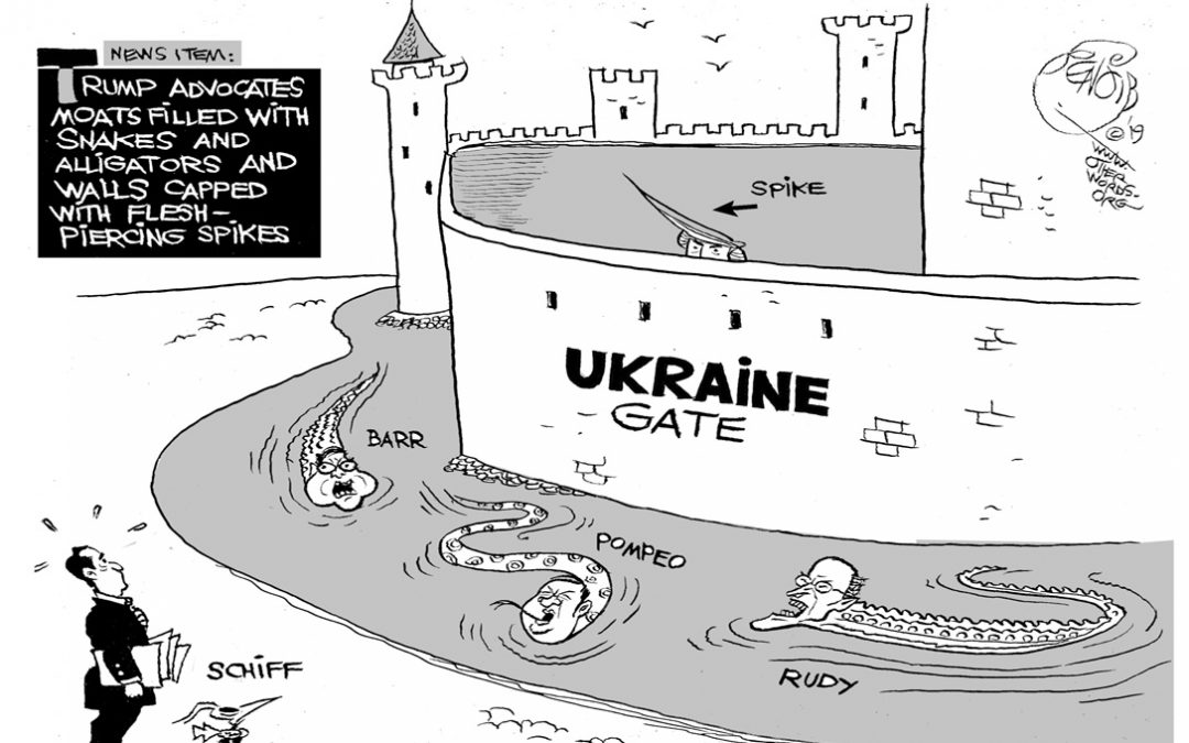 Ukraine Gate (And Ukraine Moat)