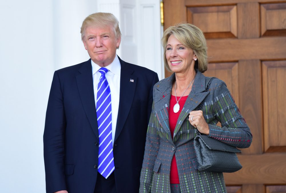 Betsy DeVos Wants to Rob Poor School Districts