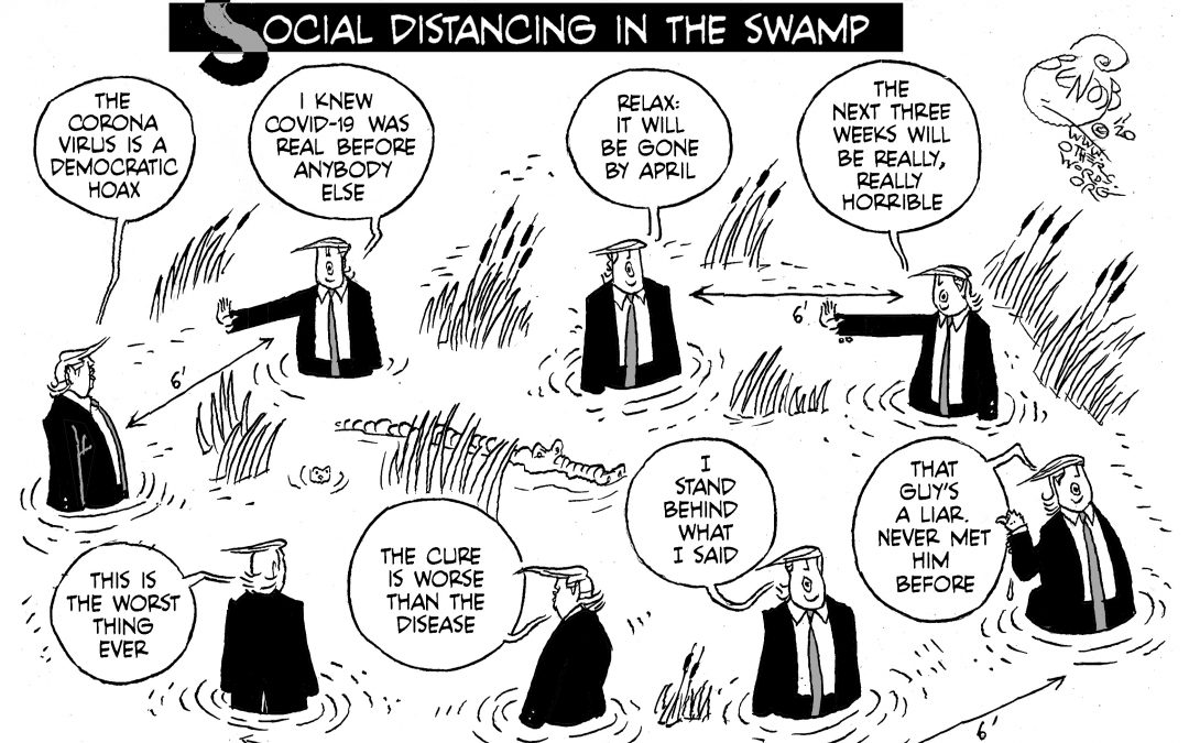 Social Distancing in the Swamp