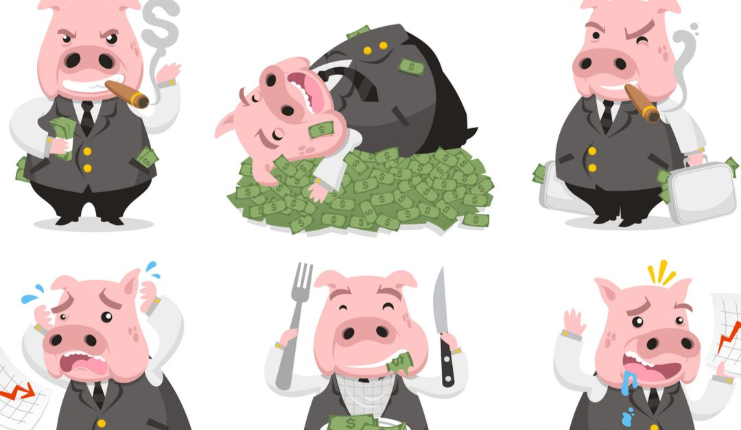 CEOs Aren't Pigs. That's Unfair — to Pigs.