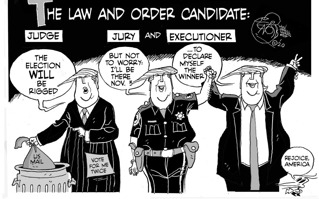 The Law and Order Candidate