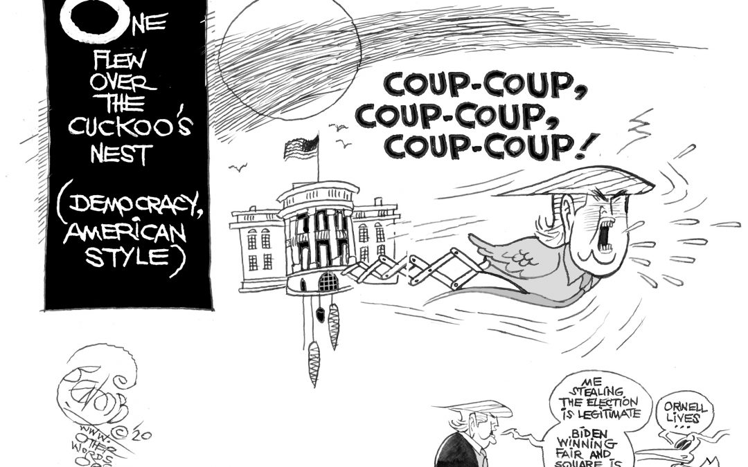 One Flew Over the Coup-Coup's Nest