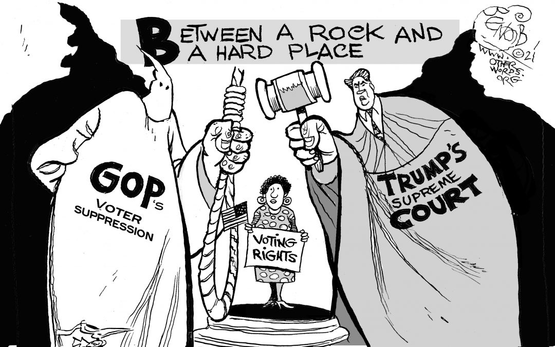 Voting Rights: Between a Rock and a Hard Place